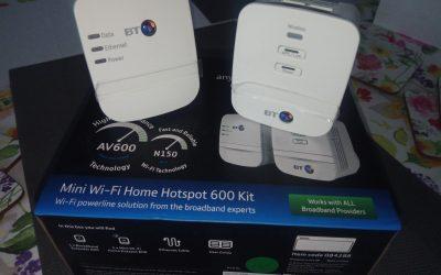 PowerLine | BT Mini Wi-Fi Home Hotspot 600 Kit – recenzja transmitera sieciowego przez sieć energetyczną
