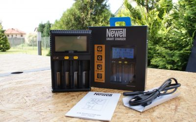 Inteligentna ładowarka akumulatorów – Newell C4