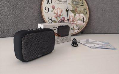 Stylowy głośnik Bluetooth z Biedronki | HYKKER NEW RETRO