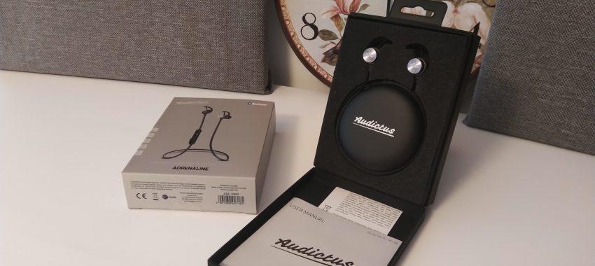 Bezprzewodowe słuchawki douszne z świetną jakością dźwięku | Audictus Adrenaline