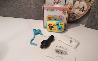 AMKOV powraca… sprawdzamy kolejny aparat dla dzieci | AMKOV CDDF 2MPx 720P