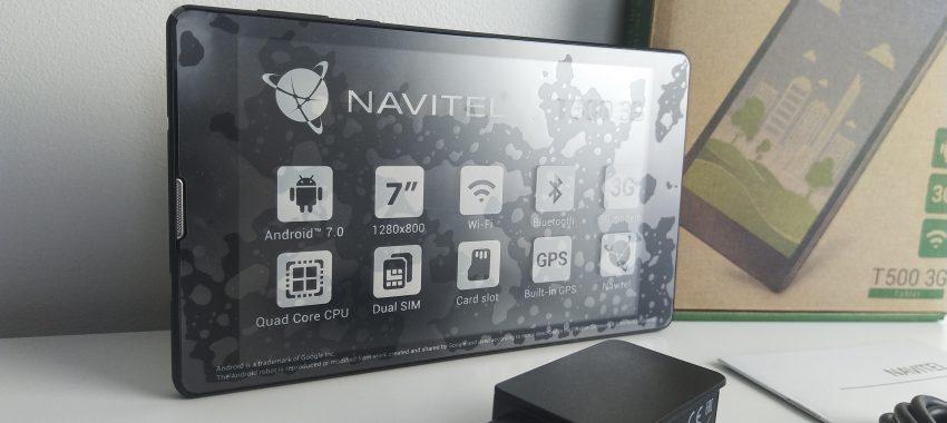 Tani tablet jako nawigacja GPS | NAVITEL T500 3G