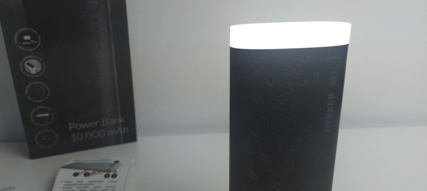Power Bank 10.000mAh z mocną latarką LED w Biedronce | HYKKER