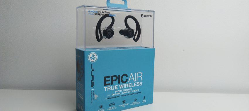 Sportowe słuchawki bezprzewodowe za 740zł | JLAB Epic Air