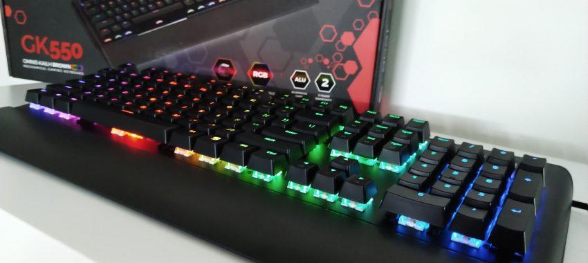 Świetna klawiatura mechaniczna od SPC Gear | SPC Gear GK550 Omnis Kailh Brown RGB