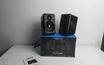 Kompaktowe głośniki 2.0 w śmiesznie niskiej cenie i z dobrym bassem | NATEC LYNX