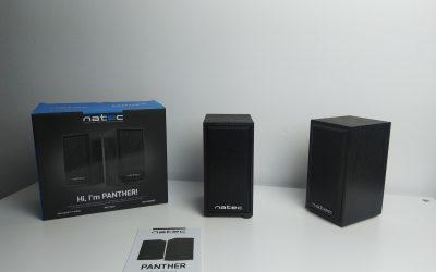 Drewniane głośniki 2.0 od NATEC za … 30zł | NATEC PANTHER