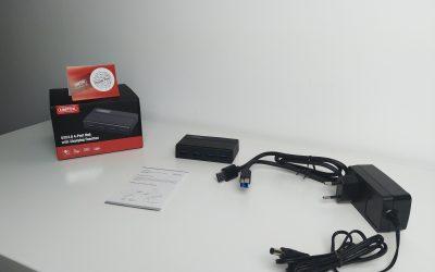 Aktywny HUB 4x USB 3.0 z funkcją ładowania | UNITEK Y-HB03001