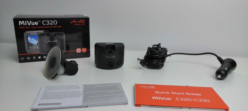 Malutki rejestrator samochodowy w dobrej cenie | Mio MiVue C320
