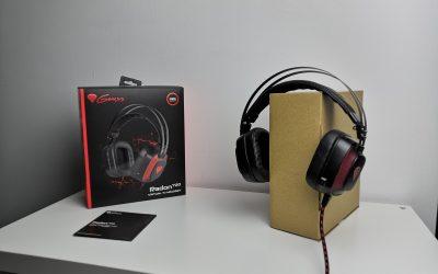 Słuchawki dla gracza z własną kartą dźwiękową Virtual 7.1 | GENESIS RADON 720
