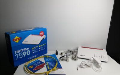 Profesjonalny router z masą funkcji! | AVM FRITZ!Box 7590