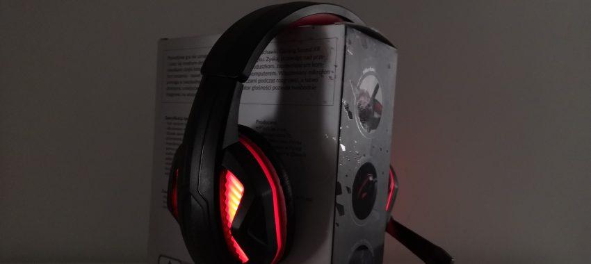 Słuchawki dla gracza z Biedronki | HYKKER Gaming Sound XR