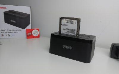 Stacja dokująca USB typu C dla dysków SATA | UNITEK Y-3605
