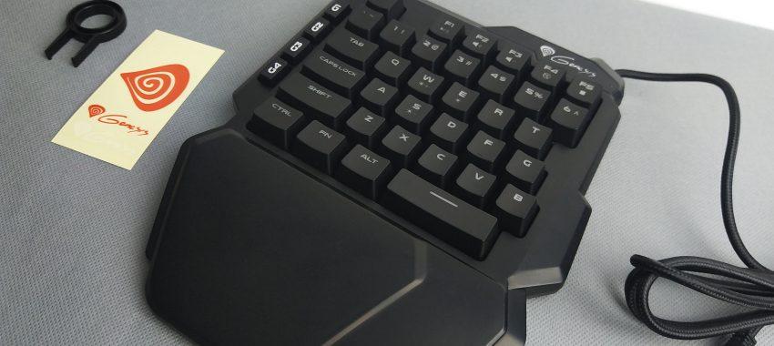 Pół klawiatury, czyli kompaktowy keypad od Genesis | Genesis Thor 100 RGB