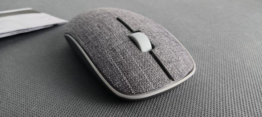 Bezprzewodowa myszka wykonana z tkaniny | Rapoo 3510 Plus