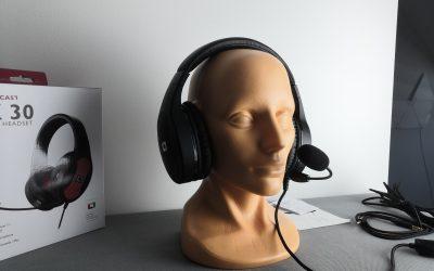 Jak sprawdzają się słuchawki gamingowe 7.1 za 180zł | Lioncast LX30 RGB