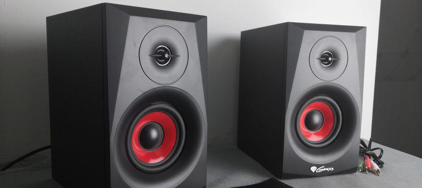 Głośniki 2.0 z funkcją Bluetooth za mniej niż 200zł. Co potrafią? | Genesis Helium 400BT