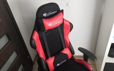 Fotel dla gracza Genesis Nitro 550 | Recenzja po 3 miesiącach