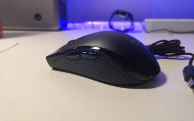 Mysz optyczna dla gracza z podświetleniem RGB do 100zł | HyperX Pulsefire Core