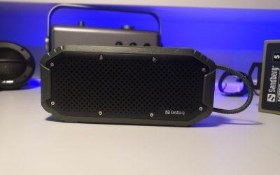 Spory głośnik bezprzewodowy z IPX7 | Sandberg Waterproof Bluetooth Speaker