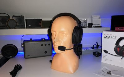 Słuchawki z dźwiękiem przestrzennym 7.1 i podświetleniem RGB | Lioncast LX55