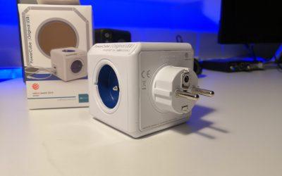 Listwa zasilająca z gniazdkami elektrycznymi i portami USB | Allocacoc PowerCube Original