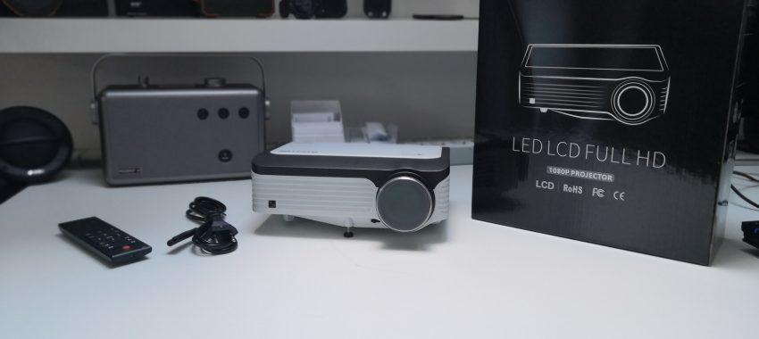 Projektor LED z natywną rozdzielczością 1920×1080 za mniej niż 1000zł ! | Byintek M1080 Smart