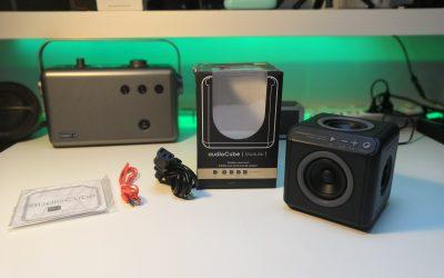 Fenomenalny głośnik bezprzewodowy z dźwiękiem przestrzennym 360° | audioCube Modular Portable