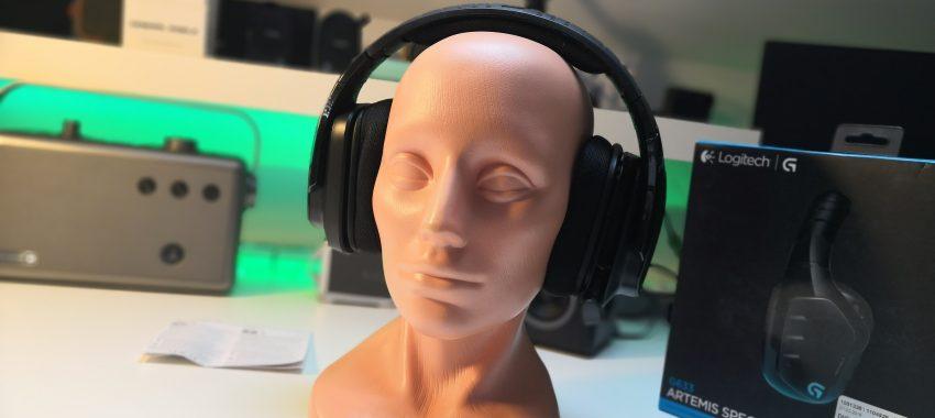 Słuchawki z fenomenalną jakością dźwięku | Logitech G633 Artemis Spectrum 7.1
