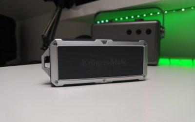 Całkiem niezły głośnik bezprzewodowy z NFC i dobrym bassem |  KRUGER & MATZ DISCOVERY KM0523