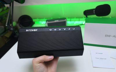 Spory, 40W-owy głośnik bezprzewodowy od Blitzwolf | BlitzWolf BW-AS2
