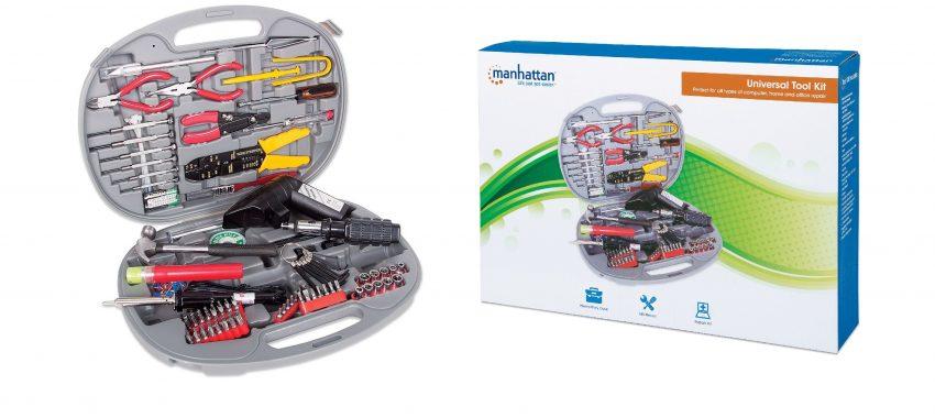 Krótko na temat uniwersalnego zestawu narzędzi | Manhattan U145 Universal Tool Kit
