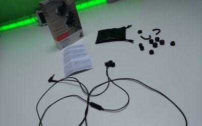 Szalenie wygodne audiofilskie słuchawki douszne z mikrofonem | FINAL AUDIO E2000C