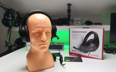 Całkiem niezłe słuchawki dla graczy w cenie poniżej 200zł | HyperX Cloud Stinger