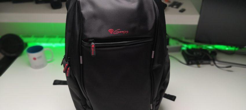 Niezły plecak z portem USB | Prezentacja Genesis Pallad 400
