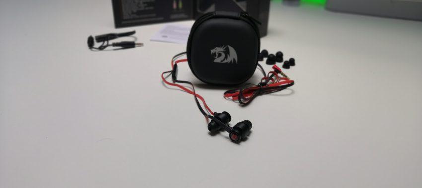 Dokanałowe słuchawki dla gracza w niezłej cenie | Redragon THUNDER PRO E200
