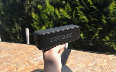 Kapitalny głośnik bezprzewodowy z Bluetooth 5.0 i wodoodpornością IPX7 za 190zł | ZENBRE Boost